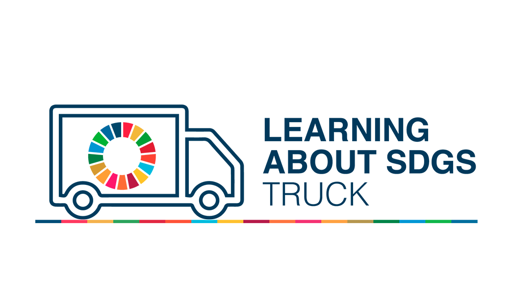 Learning About SDGs Truck